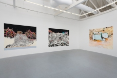 Francesca Gabbiani, Vague Terrains / Urban Fuckups, Installation view, at Gavlak Gallery. Photo courtesy of the gallery.