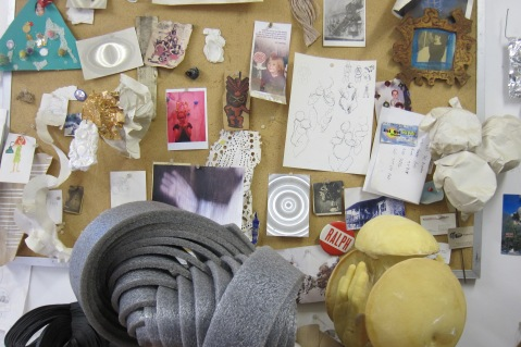 Studio visit: Tim Hawkinson. Photo Credit Gary Brewer