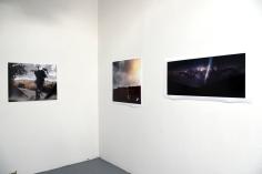 Jonathan Yacoub at CGU Open Studios. Photo credit: Kristine Schomaker.