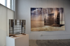 Echo Enigma by Scott Froschauer at Ark Gallery. Photo credit: Kristine Schomaker.