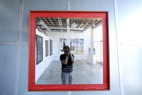 Echo Enigma by Scott Froschauer at Ark Gallery. Photo courtesy of the artist.