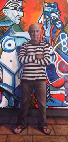Manipulating the Masters: Christina Ramos, Gabba Gallery. Photo Courtesy the artist