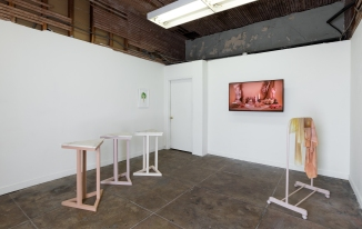 Ali Prosch For Alraune with love, install view. Elephant Art Space. Photo courtesy Astri Swendsrud.