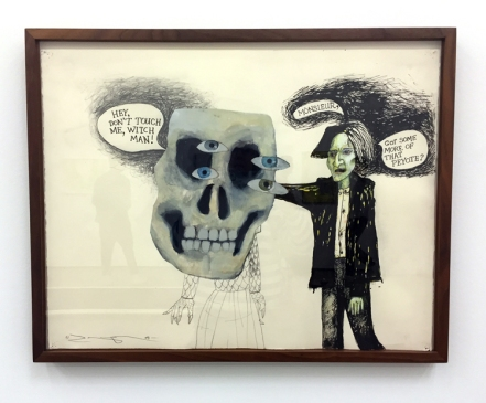 Terry Allen, 'Witchman' in Texas at Philip Martin Gallery. Photo credit: Lorraine Heitzman