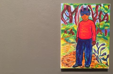 John Bankston at Walter Maciel Gallery. Photo credit: Shana Nys Dambrot.