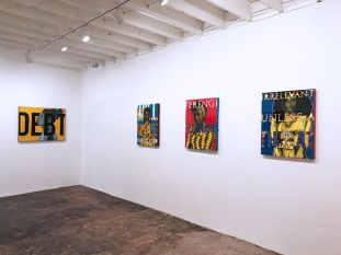 April Bey, Made in Space at Band of Vices. Photo courtesy of the gallery.