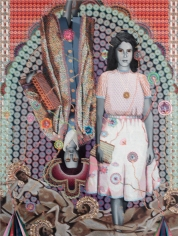 Asad Faulwell, Les Femmes d'Alger #II at DENK Gallery. Photo courtesy of the gallery