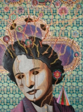 Asad Faulwell, Les Femmes d'Alger #IV at DENK Gallery. Photo courtesy of the gallery