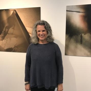 Artist profile: Cia Foreman at Fabrik Projects. Photo credit: Genie Davis.