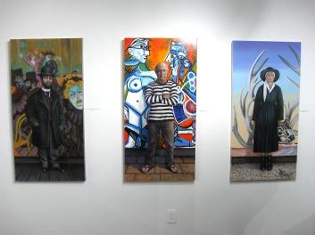 Manipulating the Masters: Christina Ramos, Gabba Gallery. Photo Credit Patrick Quinn