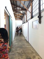 Keystone Art Space Open studios, June 2018.