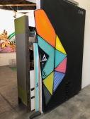 Gared Luquet at Keystone Art Space Open Studios, June 2018.