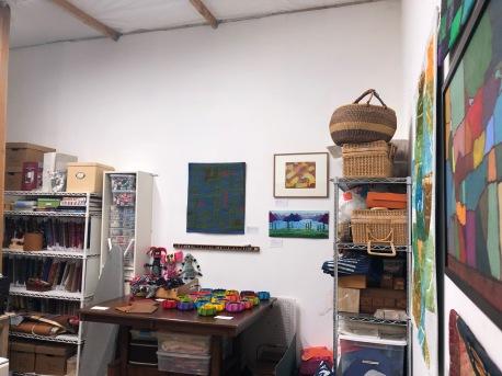 Connie Rohman at Keystone Art Space Open Studios, June 2018.
