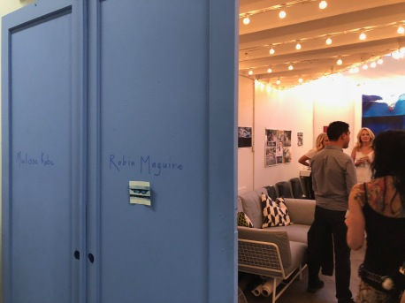 Robin Maguire in Keystone Art Space Open Studios, June 2018