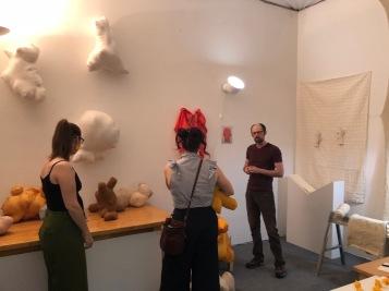 Carly Chubak in Keystone Art Space Open Studios June 2018