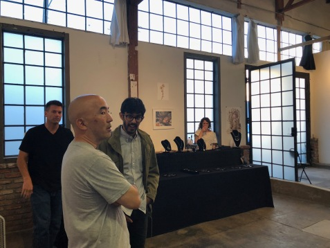 Molly Segal and Sasha Bell Jewelry in Keystone Art Space Open Studios June 2018
