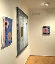 Holly Tempo at Launch LA Gallery. Photo credit: Genie Davis.