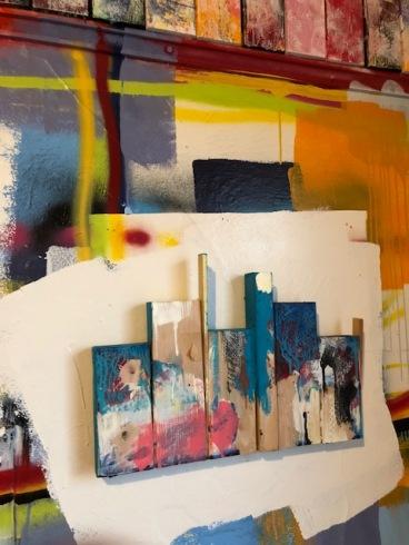 James P. Scott at Art at The Rendon // Hidden Rooms. Photo credit: Betty Brown.