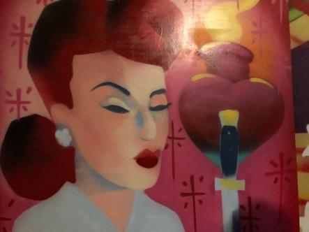 Joseph Nuke Montalvo at Art at The Rendon // Hidden Rooms. Photo credit: Betty Brown.