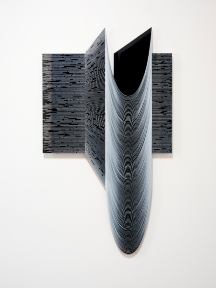 Katy Ann Gilmore Catenary Skew Number 3 at DENK Gallery. Photo courtesy of the gallery