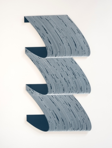Katy Ann Gilmore Catenary Skew Number 4 at DENK Gallery. Photo courtesy of the gallery