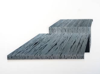 Katy Ann Gilmore, Fold #8 at DENK Gallery. Photo courtesy of the gallery