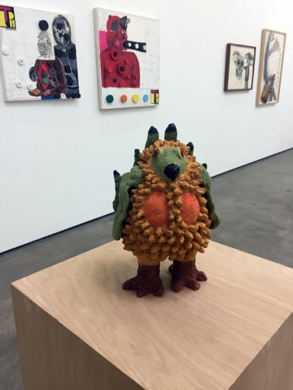 Sally Saul, 'Sage Grouse' in Texas at Philip Martin Gallery. Photo credit: Lorraine Heitzman