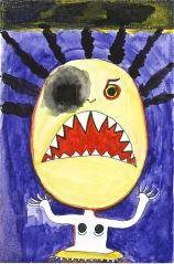 L Aviva Diamond, Monsters - Destroy!!!, Photo courtesy of the artist.