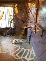 Susan Feldman at Art at The Rendon // Hidden Rooms. Photo credit: Betty Brown.