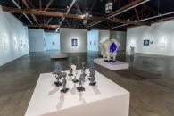 Camille Rose Garcia at Corey Helford Gallery. Photo credit: Birdman.