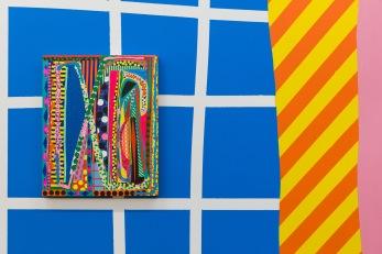 B.A.D. Summer by Jonathan Casella, Mark Cooper, and Kim Eull at Baik Art. Photo credit: Jody Zellen.