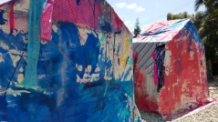 Chelsea Boxwell at Artcrib 18 at Bonehouse Bridge. Photo credit: Kristine Schomaker.