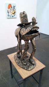 Joakim Ojanen, Year of the Dog at Richard Heller Gallery. Photo credit: Kristine Schomaker.