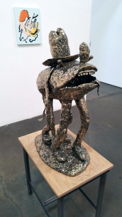 Joakim Ojanen, Year of the Dog at Richard Heller Gallery. Photo credit: Kristine Schomaker.