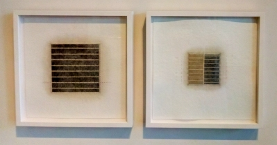 Eleanor Wood, Realignments, Series #8 and #9 in Little Britain at Vita Art Center. Photo credit: Patrick Quinn.