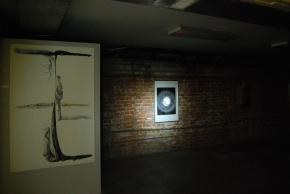 Flashlight Basement, Surrogate Gallery Projects. Photo Courtesy Holly Boruck.