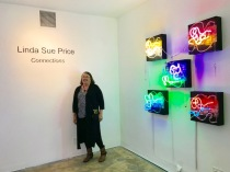 Linda Sue Price, Connections at TAG Gallery. Photo credit: Genie Davis.