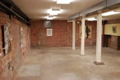 Illuminate Basement lights, Surrogate Gallery Projects. Photo Courtesy Holly Boruck.