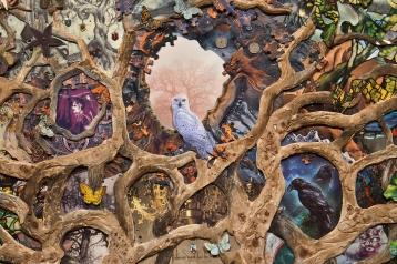 Eric Stoner at Irvine Fine Arts Center. Photo courtesy of the artist.