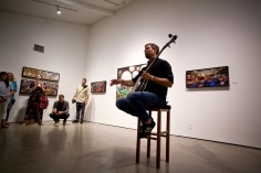 Eric Stoner at Irvine Fine Arts Center. Photo credit: Matt Frantz
