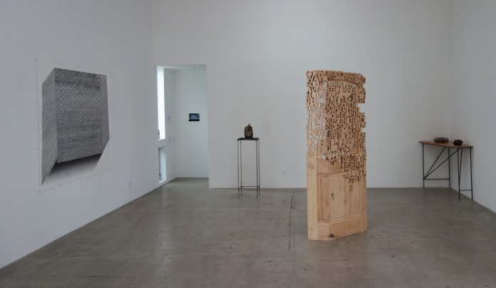 Aili Schmeltz & Jason Manley: Fixed/Flux, Installation view, JAUS Gallery. Photo courtesy of the gallery.