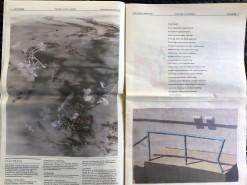 Issue 3: pg.6, Megan Mueller, pg 7, Joshua Hagler/ Diana Kohne. Photo by Lorraine Heitzman