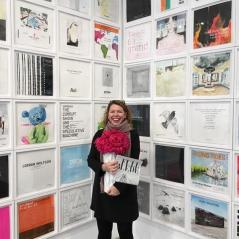 Issue 4: Sacha Bauman at launch at Charlie James Gallery. Photo courtesy Sacha Baumann