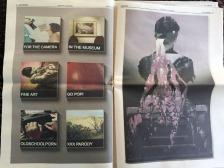 Issue 5: pg 4,Ryan Gould, pg 5, Sean Noyce, Photo by Lorraine Heitzman