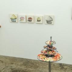 Elizabeth Tinglof and Catherine Ruane. PØST: Kamikaze - Let Me Eat Cake. Photo credit Debe Arlook