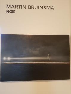 Martin Bruinsma; Noir at Lois Lambert Gallery. Photo credit: Jenny Begun