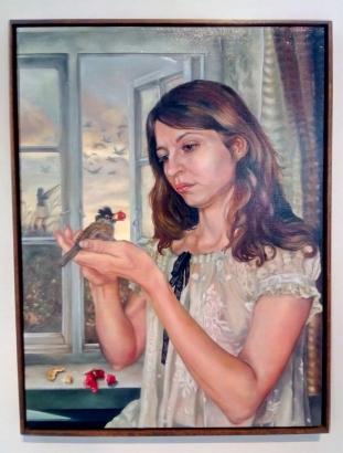 Rhea O_neill, Bird Shot in Little Britain at Vita Art Center. Photo credit: Patrick Quinn.