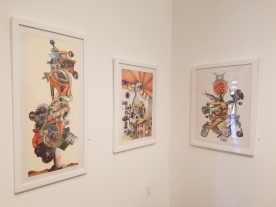 Simon Berson; Brain Candy at Lois Lambert Gallery. Photo credit: Jenny Begun