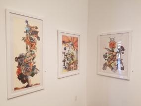 Simon Berson; Brain Candy at Lois Lambert Gallery. Photo credit: Jenny Begun