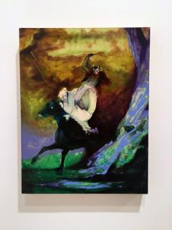 The Devil In Tom Walker, Josh Hagler at The Brand Library Art Center. Photo credit: Lorraine Heitzman.